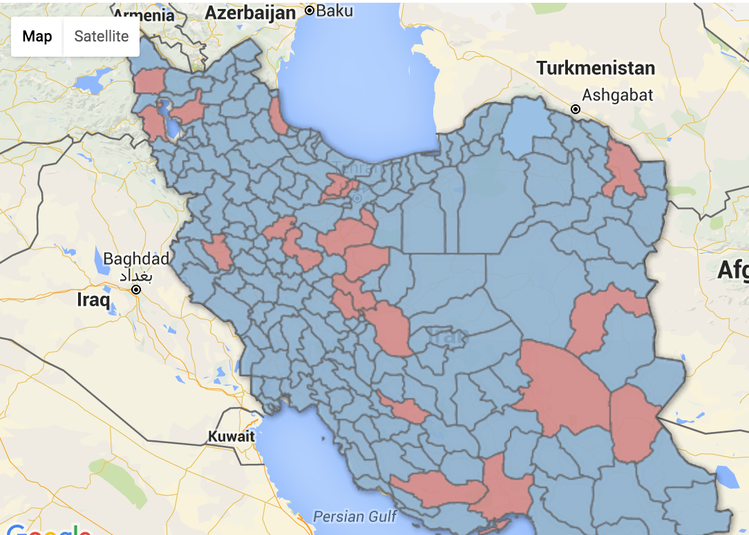 Where the Unfair Distribution of Majles Seats Disadvantaged the Principlists