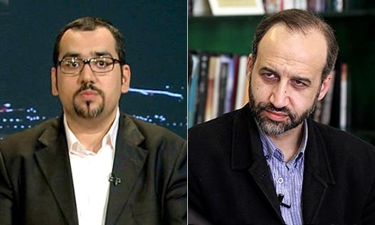 حمیدرضا عمادی و محمد سرافراز (منبع: عدالت برای ایران)